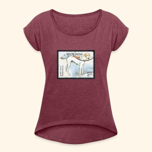 India - Mudhol Hound - Women's Roll Cuff T-Shirt