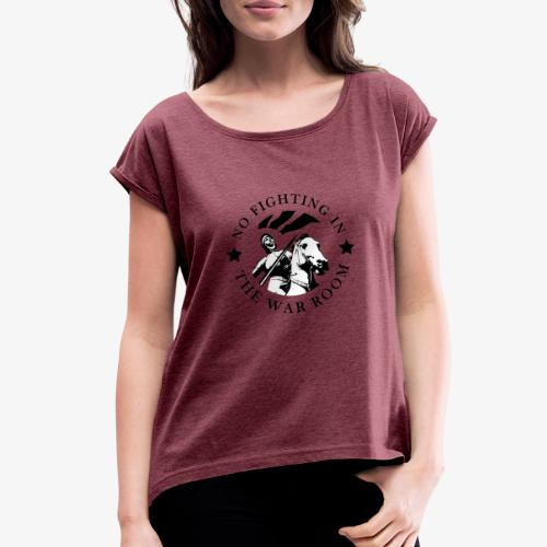 Motto - Joan of Arc - Women's Roll Cuff T-Shirt