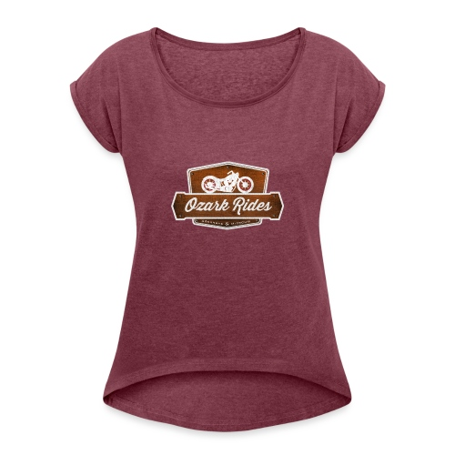 Ozark Rides - Women's Roll Cuff T-Shirt