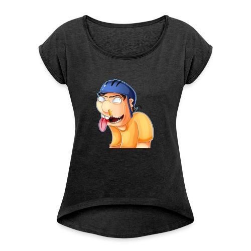 jeffy clipart - Women's Roll Cuff T-Shirt