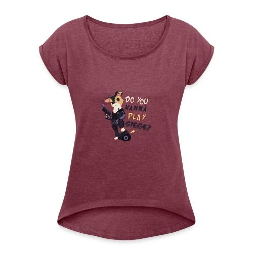 Siege Riley - Women's Roll Cuff T-Shirt