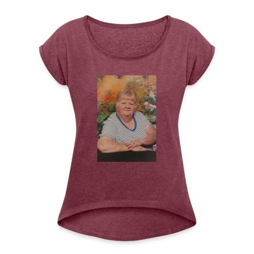 Carolyn - Women's Roll Cuff T-Shirt