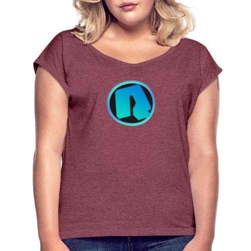 Channel Logo - qppqrently Main Merch - Women's Roll Cuff T-Shirt