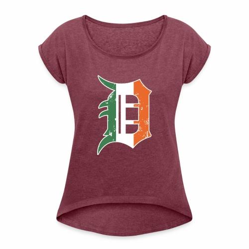 IRISH D - Women's Roll Cuff T-Shirt