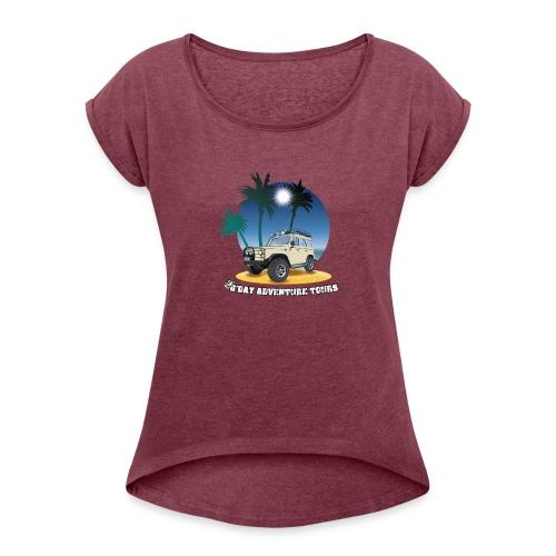 G'day Adventure Tours - Women's Roll Cuff T-Shirt