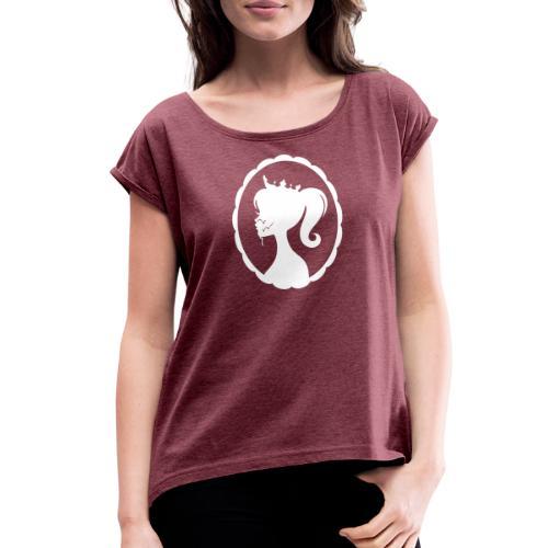Cum Princess 2 - Women's Roll Cuff T-Shirt