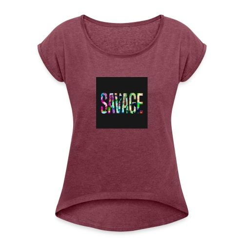 Savage Wear - Women's Roll Cuff T-Shirt