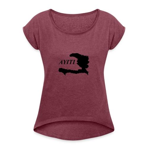 Hispaniola - Women's Roll Cuff T-Shirt