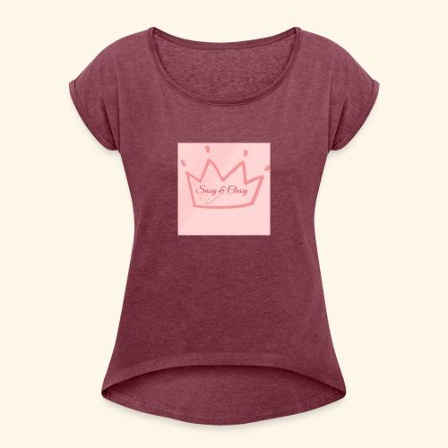 SassyClass - Women's Roll Cuff T-Shirt