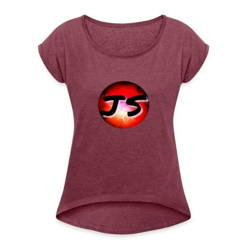 JS Merch - Women's Roll Cuff T-Shirt