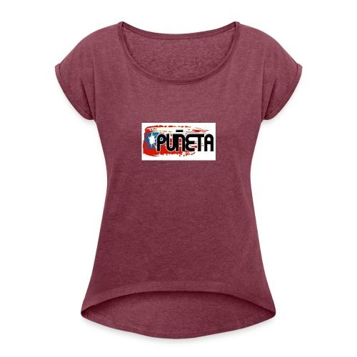 puneta - Women's Roll Cuff T-Shirt