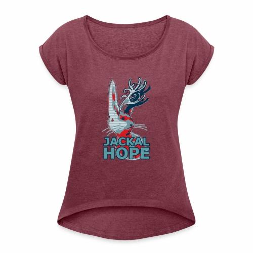 Jackalhope - Women's Roll Cuff T-Shirt