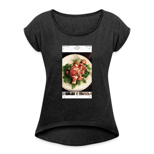 King Ray - Women's Roll Cuff T-Shirt