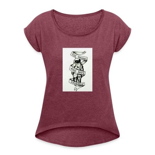 High Times - Women's Roll Cuff T-Shirt
