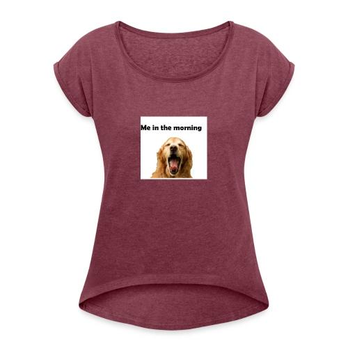 doggo - Women's Roll Cuff T-Shirt