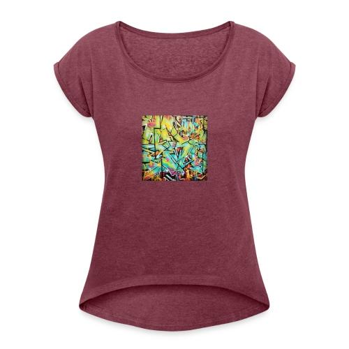 13686958_722663864538486_1595824787_n - Women's Roll Cuff T-Shirt