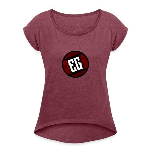 EG Icon - Women's Roll Cuff T-Shirt