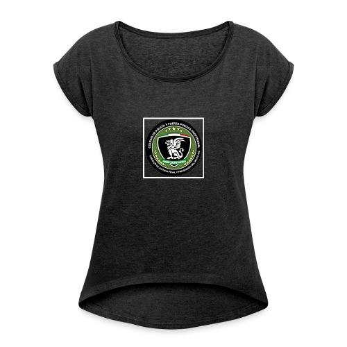 Its for a fundraiser - Women's Roll Cuff T-Shirt