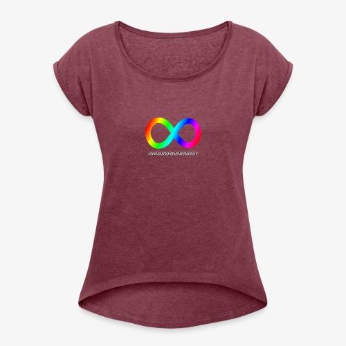 Neurodiversity - Women's Roll Cuff T-Shirt