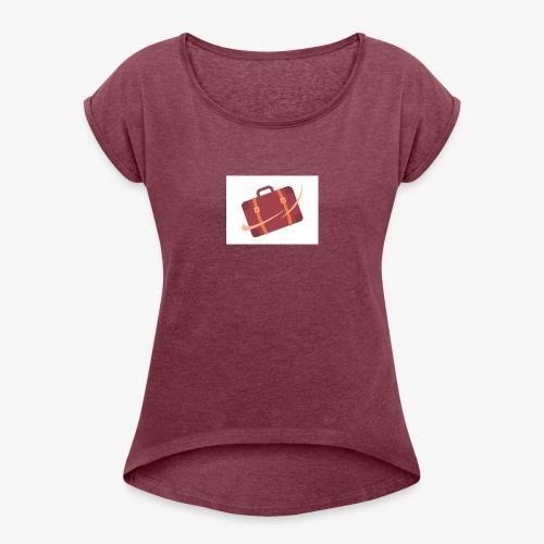 design - Women's Roll Cuff T-Shirt