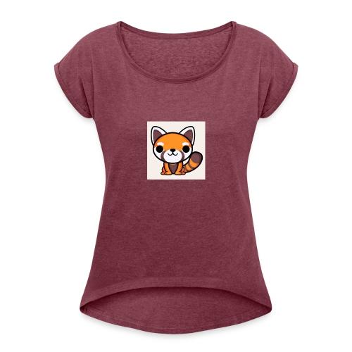 RedPandaPlayz17 - Women's Roll Cuff T-Shirt