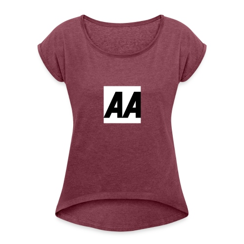 A.A - Women's Roll Cuff T-Shirt