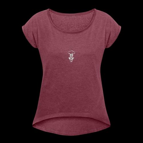 MONSTERR - Women's Roll Cuff T-Shirt