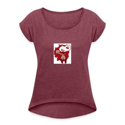 bf4140212e5eb4824d53ba5bf4faa6f3 - Women's Roll Cuff T-Shirt