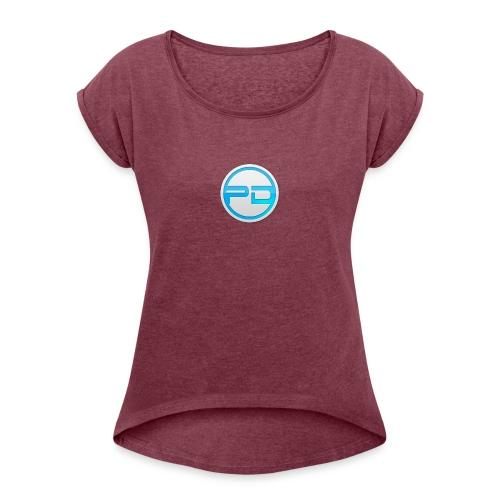 PR0DUD3 - Women's Roll Cuff T-Shirt