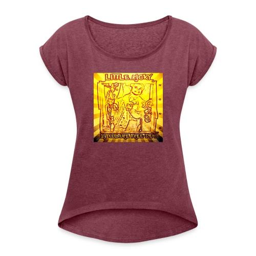 20200422 131244 - Women's Roll Cuff T-Shirt