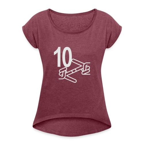 Motivation Series II - Women's Roll Cuff T-Shirt