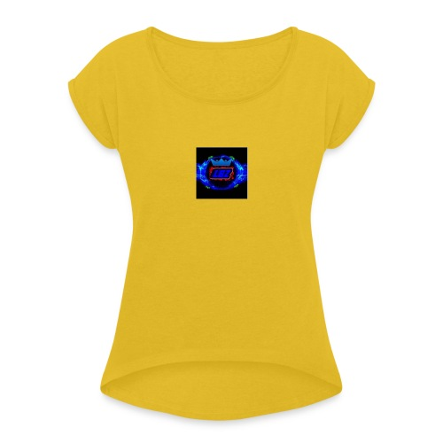 logo_3 - Women's Roll Cuff T-Shirt