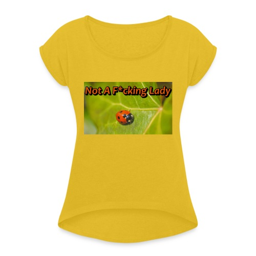 ladybug - Women's Roll Cuff T-Shirt