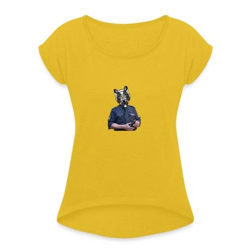 wolf police - Women's Roll Cuff T-Shirt