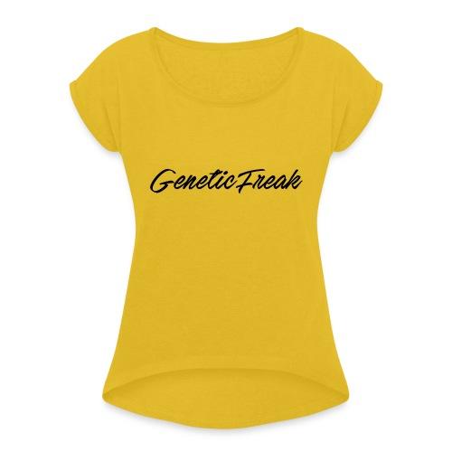 genetic png - Women's Roll Cuff T-Shirt
