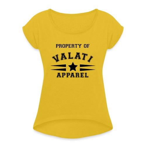 Property Of - Women's Roll Cuff T-Shirt