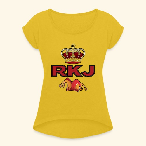 RKJ2 - Women's Roll Cuff T-Shirt
