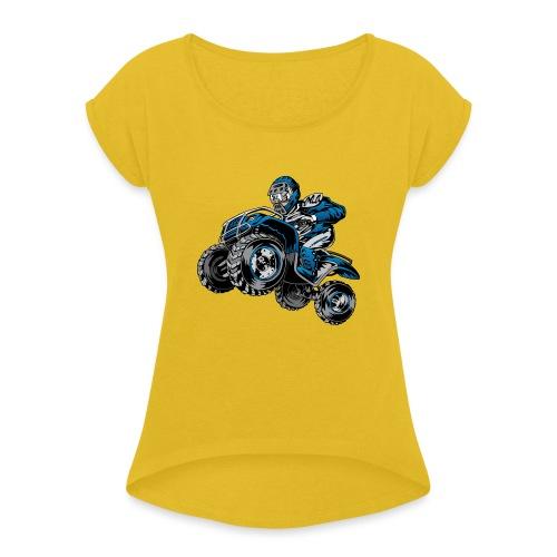 Yamaha ATV Shirt - Women's Roll Cuff T-Shirt
