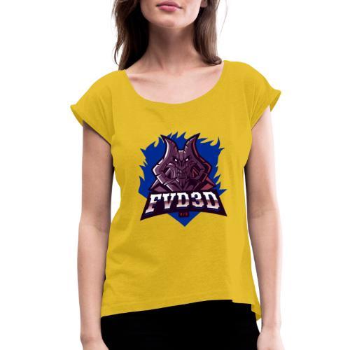 FVD3D Team Shop - Women's Roll Cuff T-Shirt