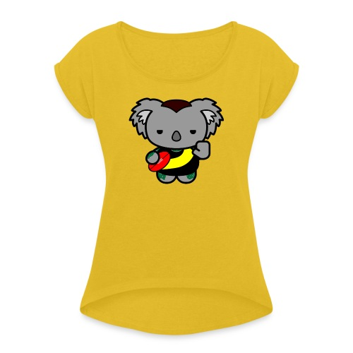 Dustin Martin - Women's Roll Cuff T-Shirt
