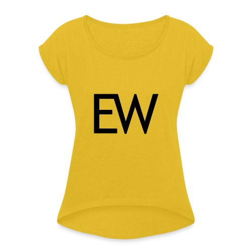 EDM Weekly - Women's Roll Cuff T-Shirt