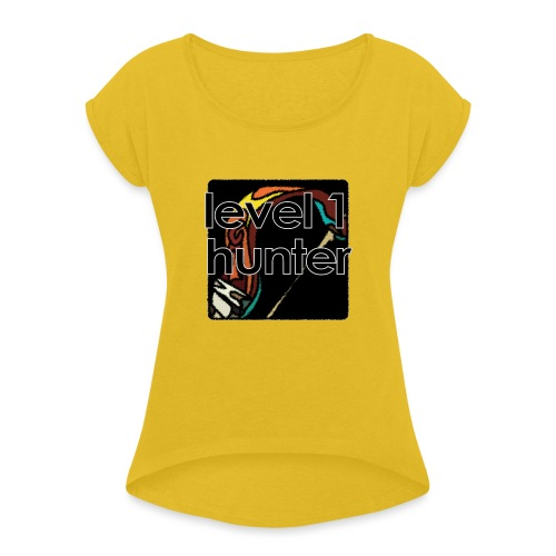 Warcraft Baby: Level 1 Hunter - Women's Roll Cuff T-Shirt