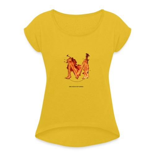 great logo - Women's Roll Cuff T-Shirt