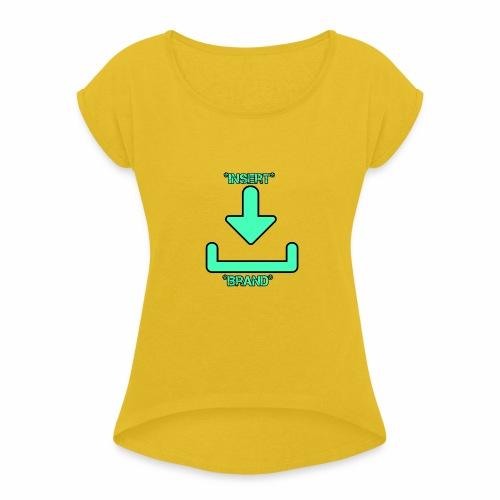 Brandless - Women's Roll Cuff T-Shirt