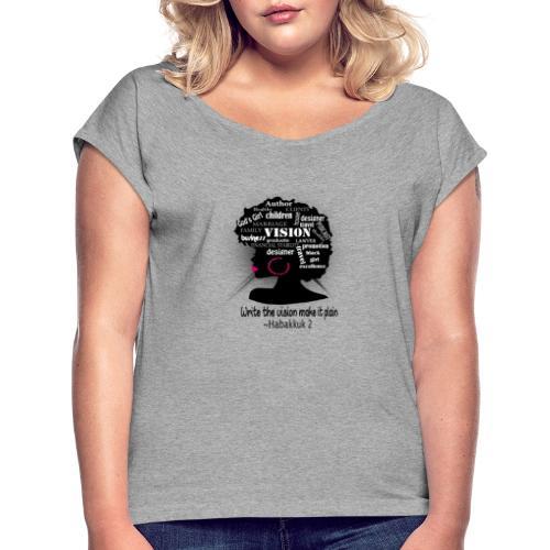 Vision - Women's Roll Cuff T-Shirt