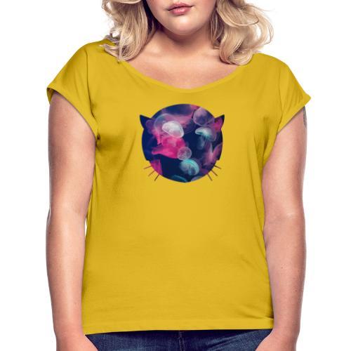 Ultramarine collection - Women's Roll Cuff T-Shirt