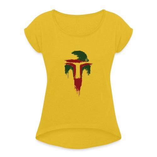Boba Fett - Women's Roll Cuff T-Shirt