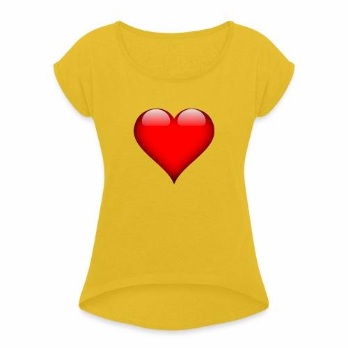 pic - Women's Roll Cuff T-Shirt