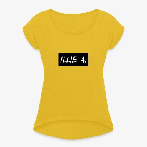 Illie Clothes - Women's Roll Cuff T-Shirt