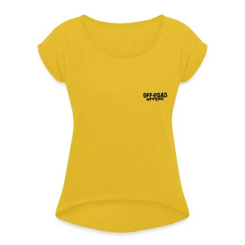 Ultimate FMX Grunge Women's T-Shirts - Women's Roll Cuff T-Shirt